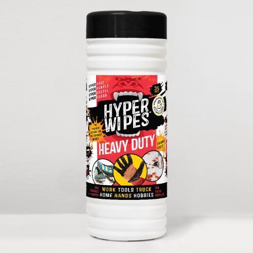 Hyper Wipes Heavy Duty Wet Wipes