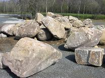 Blocs de pierre