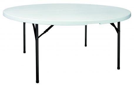 Table polypro ronde 180 cm