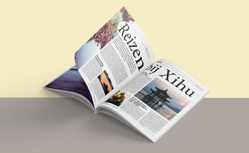 Tijdschriften ontwerpen
