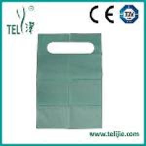 Delantal de papel dental