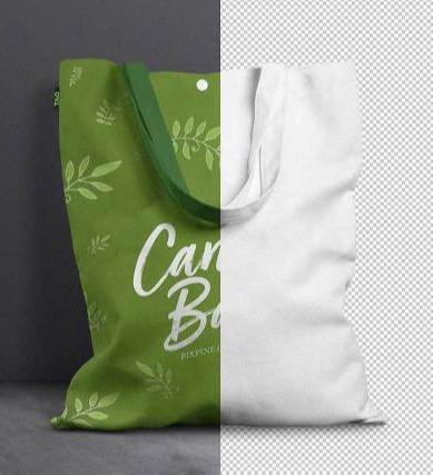 Cotton bags -tote - Pouch