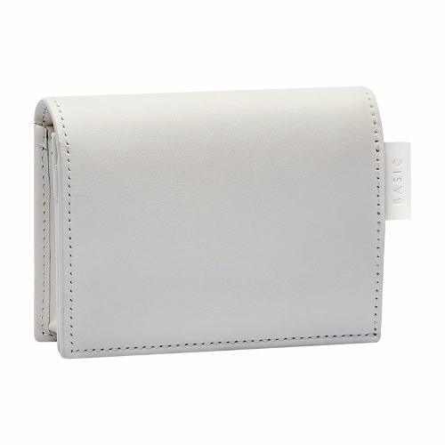 Mini Wallet Off-white, Grey-white