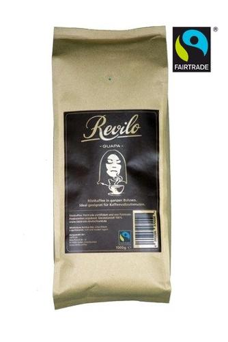 Revilo GUAPA - Röstkaffee in Ganzen Bohnen - FairTrade...