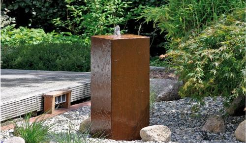 Fountain Stainless Steel AQUA CUBUS