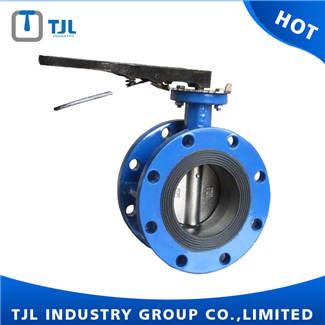 Di Body Concentric Butterfly Valve Flange Type