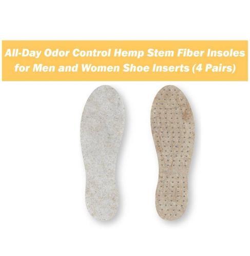 All-Day Odor Control Hemp Stem Fiber Insoles