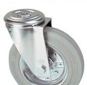 Roulette bandage caoutchouc gris