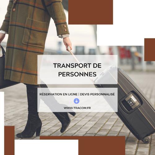 Transport de personnes avec Tracom sas