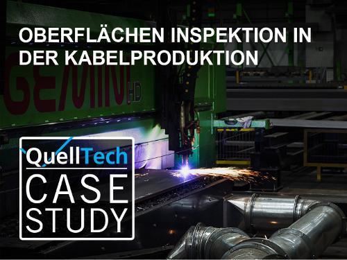 Oberflächeninspektion in der Kabelproduktion