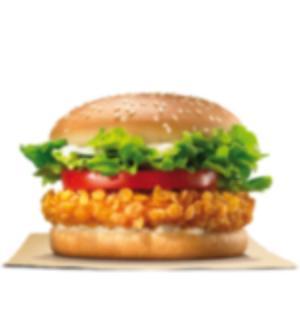 Hamburguesa Crispy Crujiente de pollo – Crispy Chicken