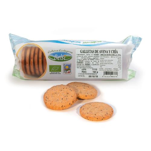 Oatmeal Eco Cookies With Chia