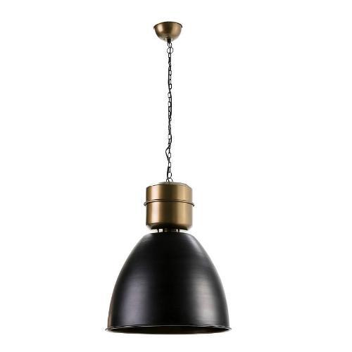 Hängelampe 46x46x54 Metall Golden/schwarz - Hängeleuchten