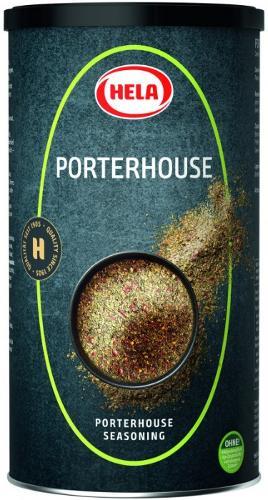 Hela Porterhouse 450g. Steaks, minced meat, fish. Spices.