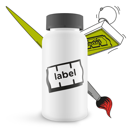 Self-adhesive labels