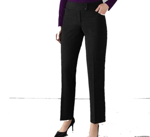 Pantalon De Tailleur Slim Femme Maidavalle