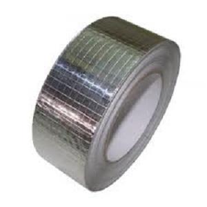 Nastro adesivo in alluminio con rete di rinforzo