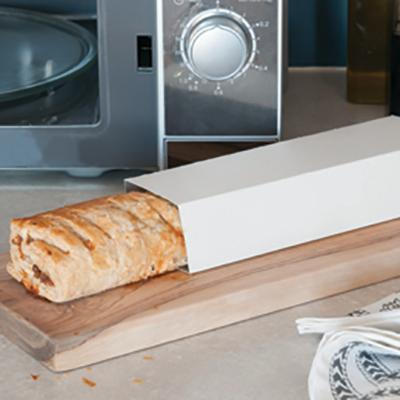 Sira-Crisp - packaging for crisping food in a microwave