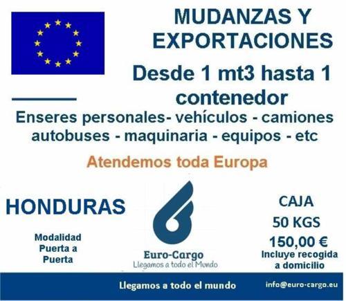 Mudanzas a Honduras