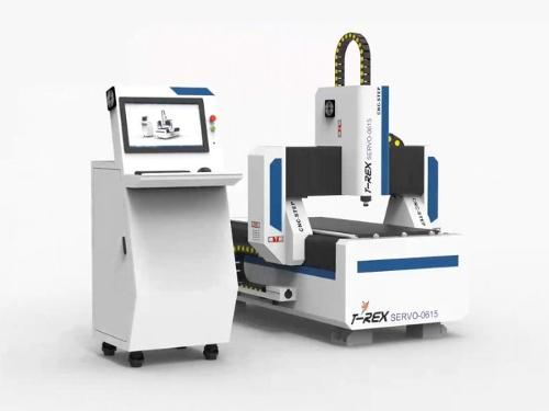 CNC Router with servo motors Milling Engraving Machine