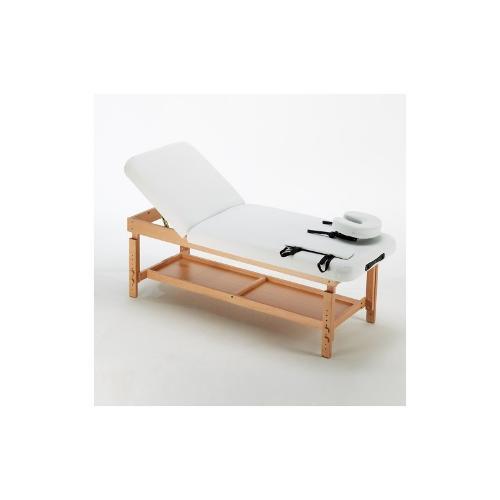 Table de massage Fixe réglable en hauteur avec dossier