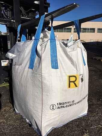 Big bag omologati, antistatici, per alimenti