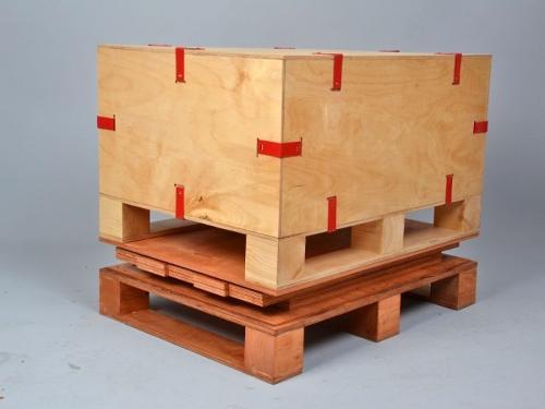 Wooden Clip Lok Box