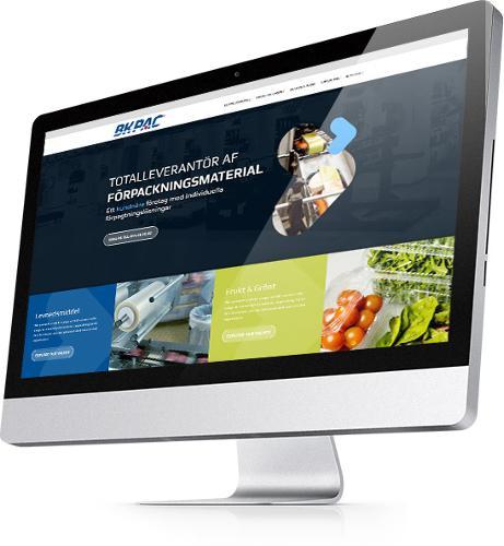 Ny Wordpress hjemmeside