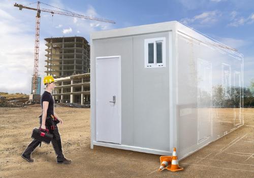 Construction modulaire pour base vie