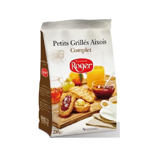 "Crackers ""Petits Grilles Aixois Complet"""
