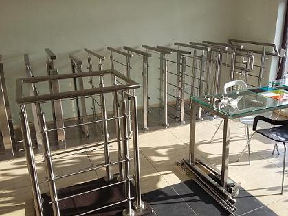 Elementy akcesoria do balustrad