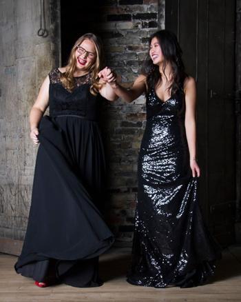 Vestidos de noche - por encargo a medida