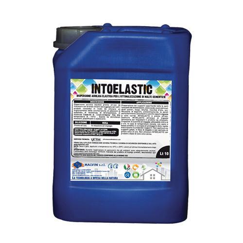 Elastic acrylic dispersion to improve cementitious mortars