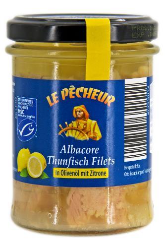 MSC Thunfisch Filets im Glas