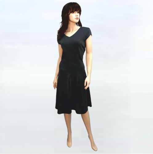 Дамска трикотажна рокля