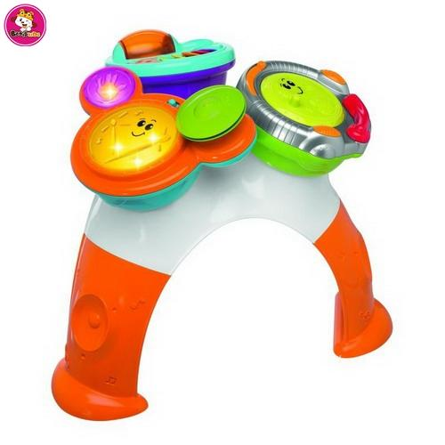 2 in 1 baby Sit-to-stand Learning Walker with music