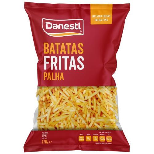 Batatas Fritas Palha