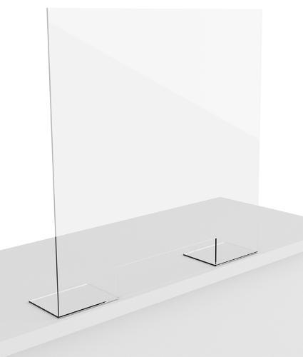 Protection screen in plexiglas