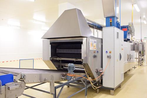 Equipments for cookies and waffles industries