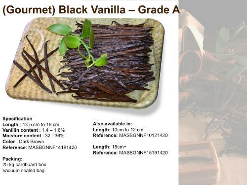 Vanilla Pods/Beans