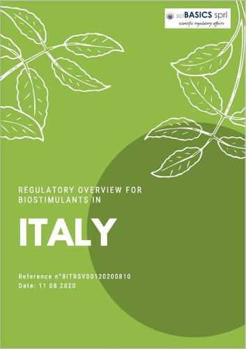 Regulatory Overview For Biostimulants In Italy