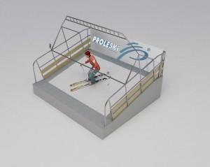 Indoor entertainment PROLESKI PRO1 ski simulator