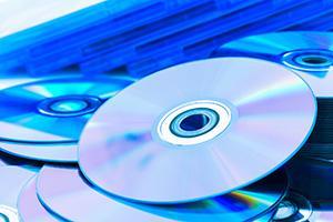 Pressning av CD-/DVD-skivor, ljud- och videoskivor