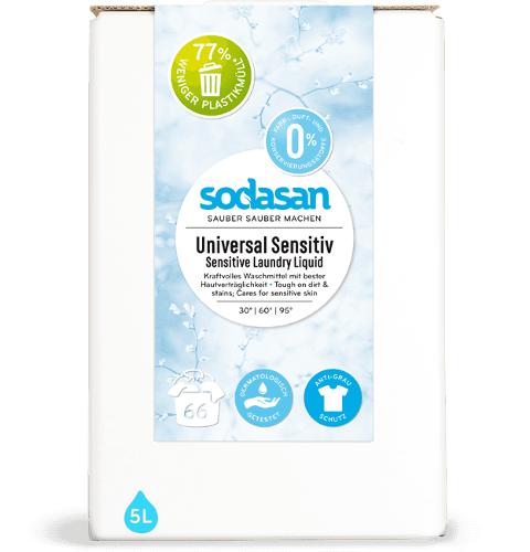 Sodasan Laundry Liquid Sensitive