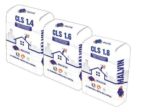 Cls strutturale alleggerito CLS 1.4/1.6/1.8