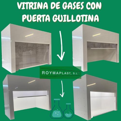 Vitrina para gases