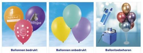 Ballonnen en toebehoren