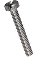 Slotted cheese head machine screws