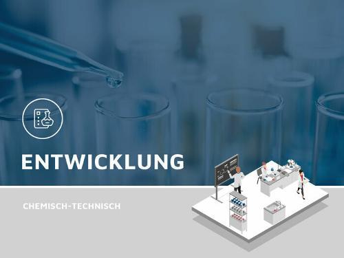 Entwicklung von chemisch-technischen Produkten