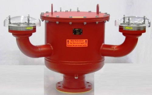 Combined pressure and vacuum valves, KITO VD/MC-IIA-...